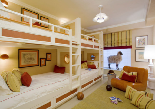 bedroom decoration bunk bed idea (1)
