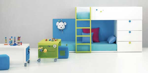 bedroom decoration bunk bed idea (10)