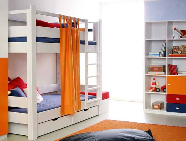 bedroom decoration bunk bed idea (11)