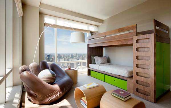 bedroom decoration bunk bed idea (12)