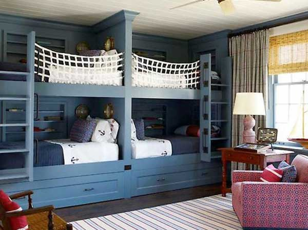bedroom decoration bunk bed idea (14)