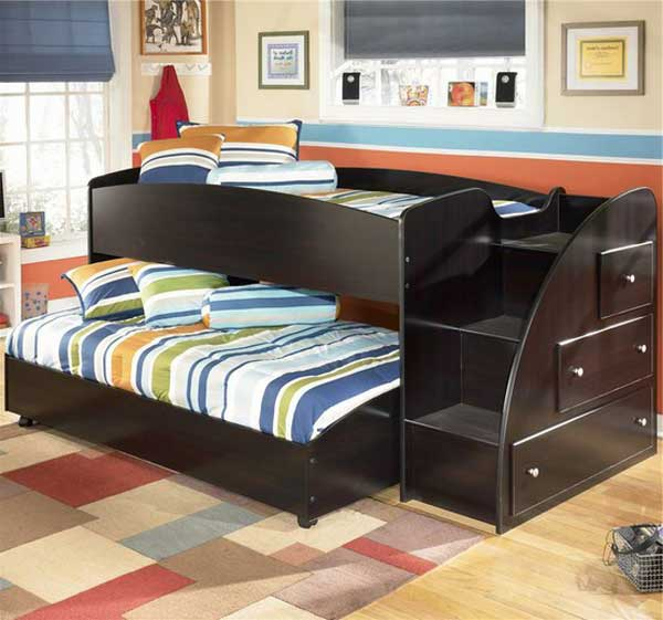 bedroom decoration bunk bed idea (16)