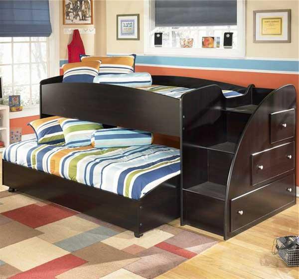 bedroom decoration bunk bed idea (16)