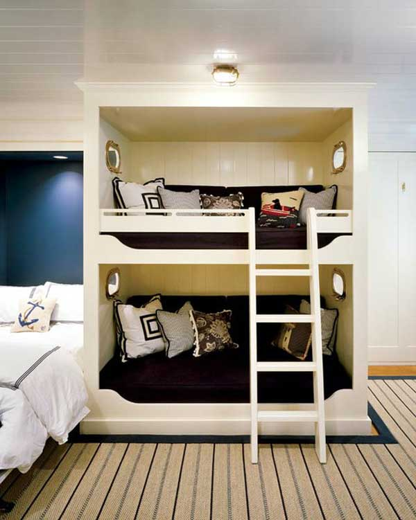 bedroom decoration bunk bed idea (17)