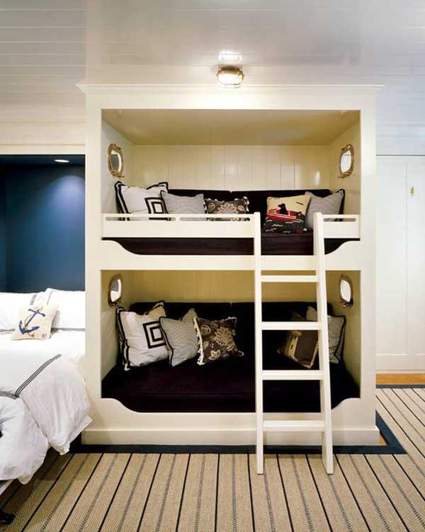 bedroom decoration bunk bed idea (17)