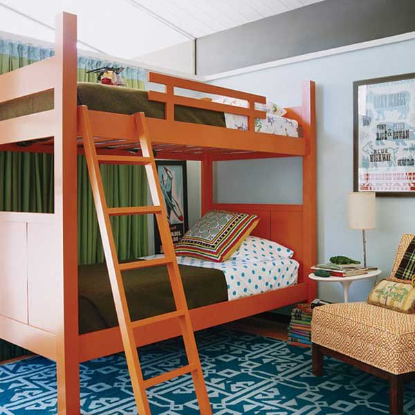bedroom decoration bunk bed idea (2)