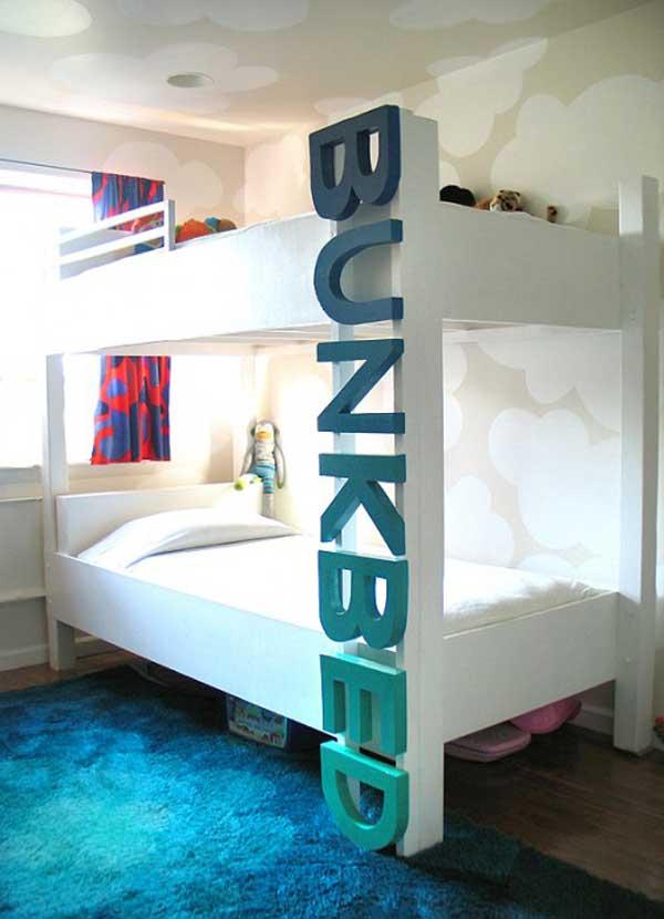 bedroom decoration bunk bed idea (4)