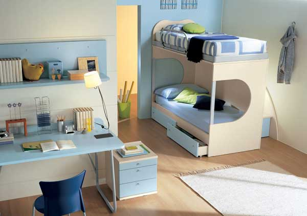 bedroom decoration bunk bed idea (5)