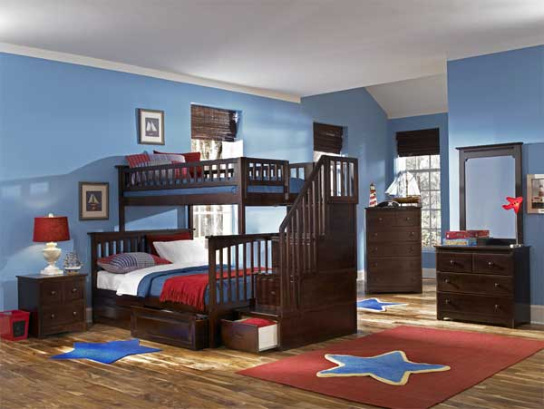 bedroom decoration bunk bed idea (6)