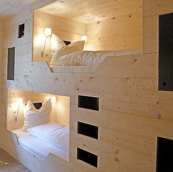 bedroom decoration bunk bed idea (7)