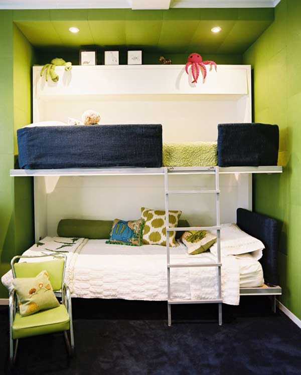 bedroom decoration bunk bed idea (8)