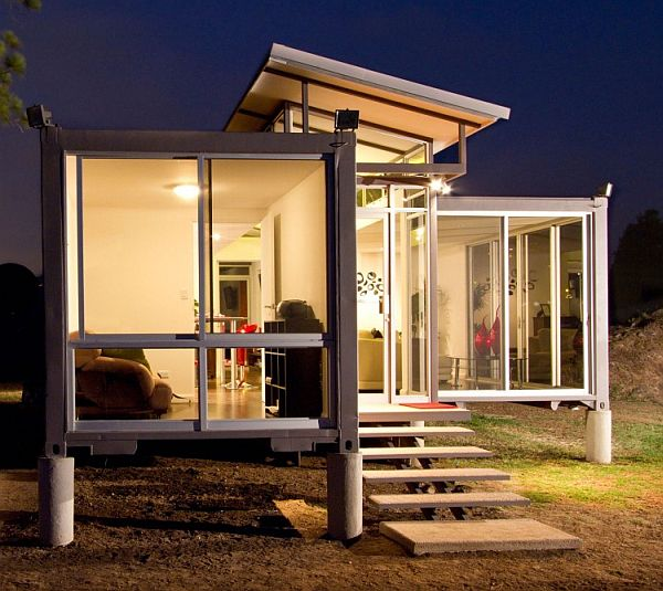 container house modern glass ideas (1)