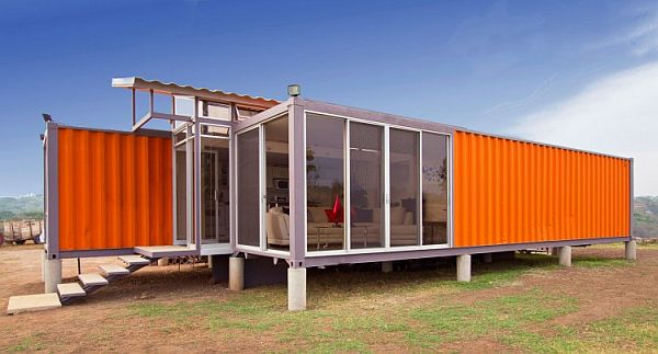 container house modern glass ideas (2)