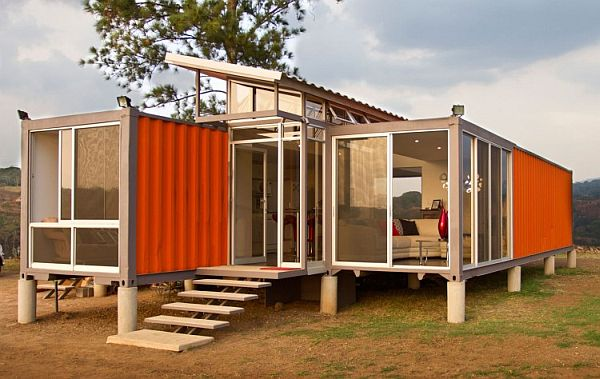 container house modern glass ideas (7)