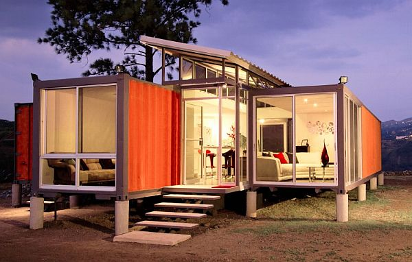 container house modern glass ideas (8)