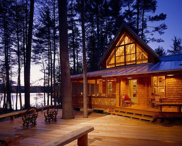 cottage vacation house in forest lake (1)