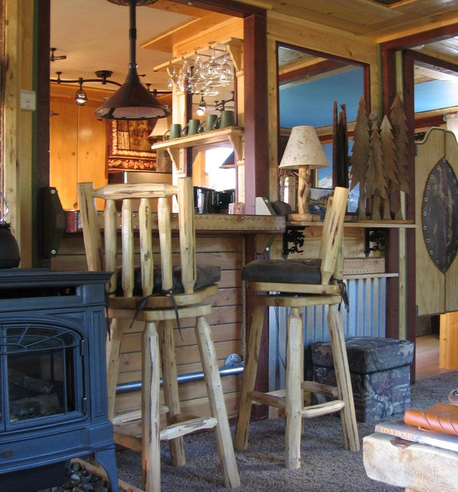 cottage wood in garden (3)