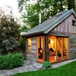 แบบบ้านไม้ทรงเพิงหมาแหงน หลังเล็กดูน่ารัก ใช้ประโยชน์พื้นที่ได้คุ้มค่ามาก