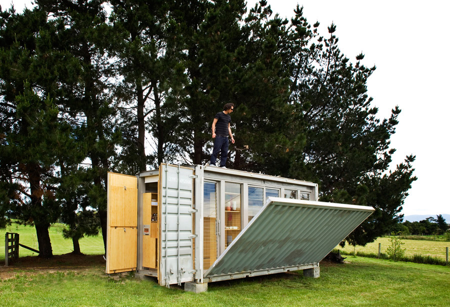 idea container house wooden cool (5)
