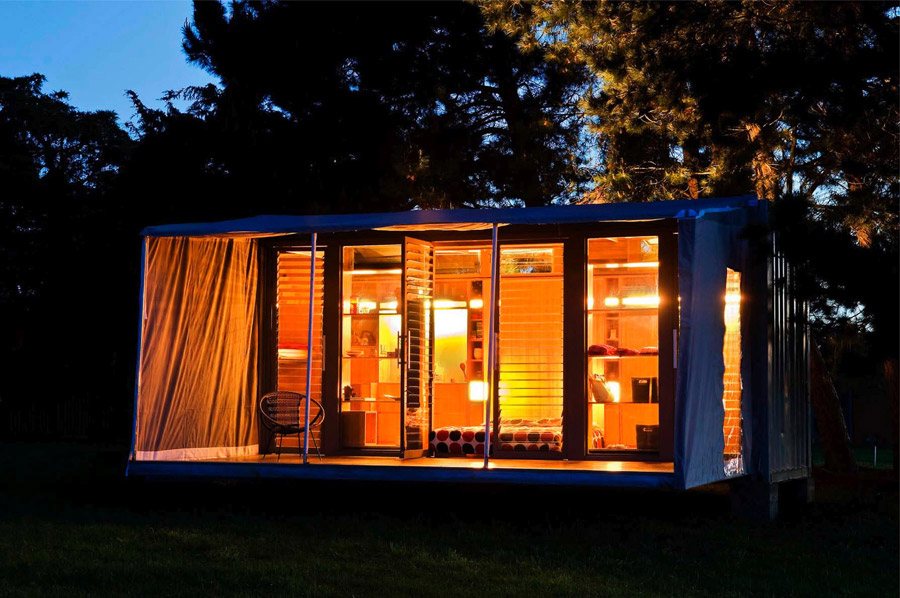 idea container house wooden cool (6)