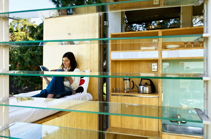 idea container house wooden cool (7)