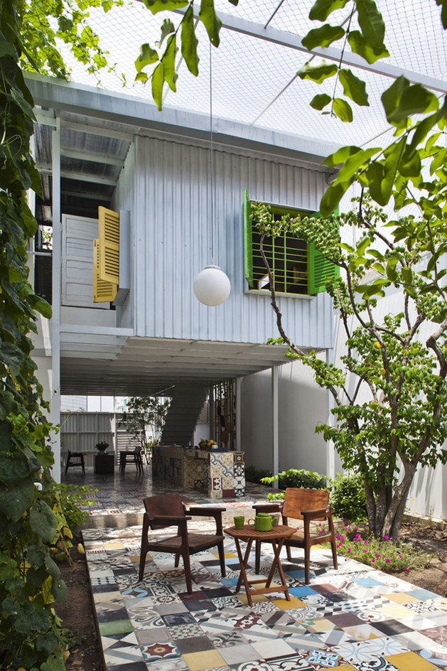 industrial house modern retro natural in city (16)
