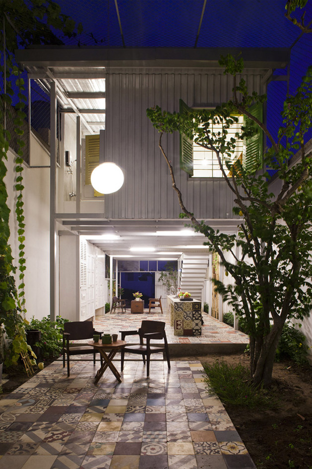 industrial house modern retro natural in city (7)
