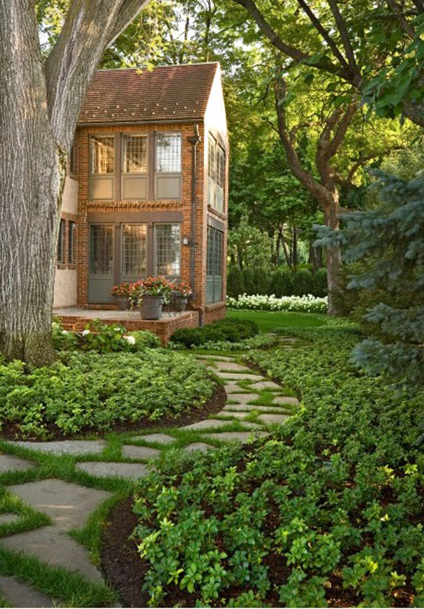 lanscape lawn idea for you house (18)