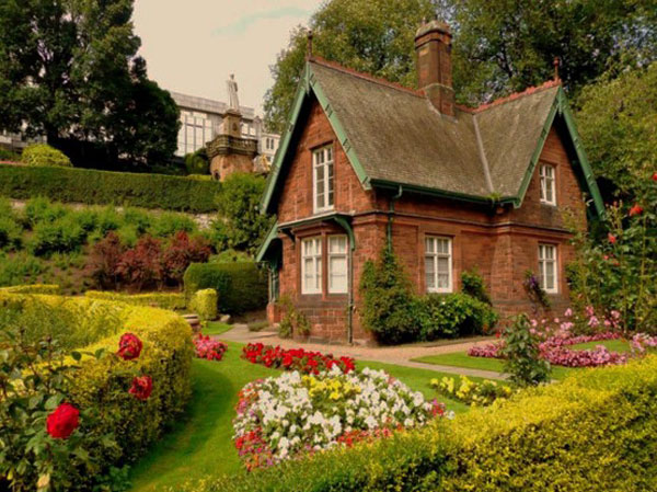 lanscape lawn idea for you house (7)