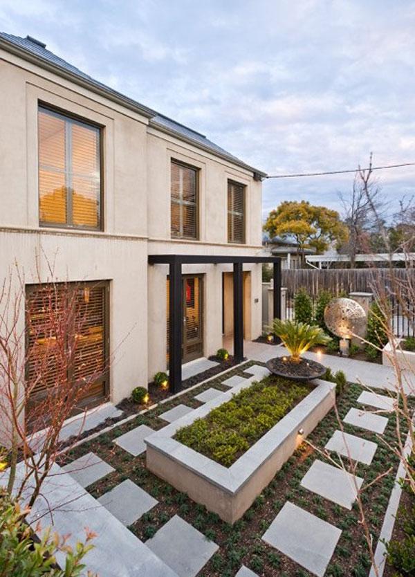 lanscape lawn idea for you house (9)
