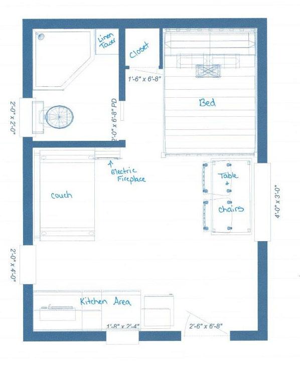 mini wood cottage living house (10)