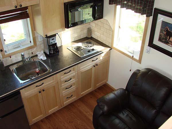 mini wood cottage living house (5)