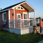แบบบ้านชั้นเดียวหลังเล็ก 20 ตร.ม. ออกแบบเป็นกระท่อมไม้ ราคาประหยัด