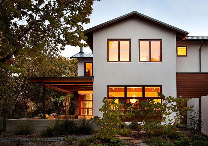 modern contemporary house garden (3)