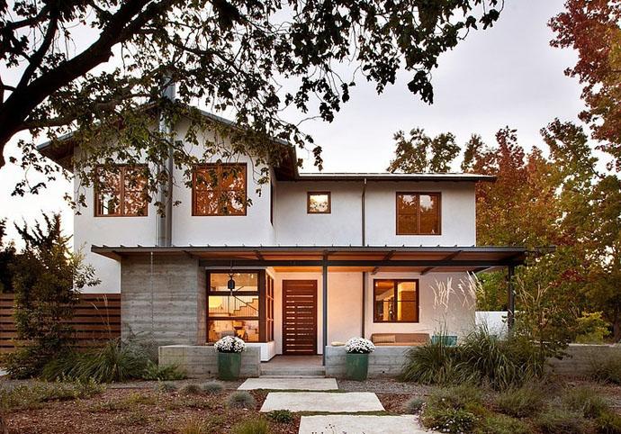 modern contemporary house garden (6)