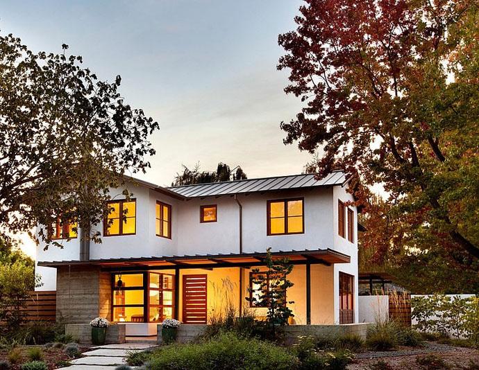 modern contemporary house garden (7)