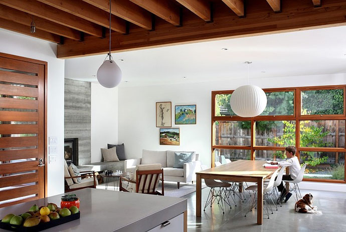 modern contemporary house garden (9)