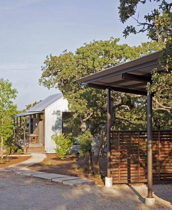 modern contemporary metal sheet house (7)