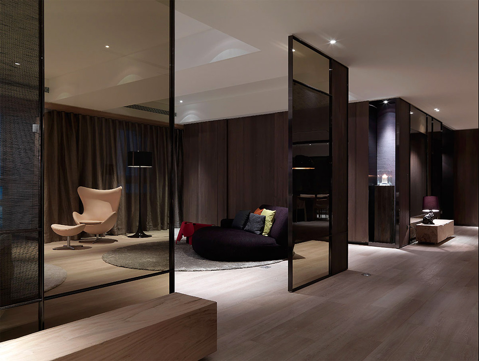 modern contemporary rich room condominium decoration (1)