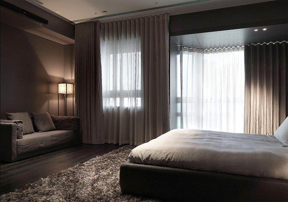modern contemporary rich room condominium decoration (11)