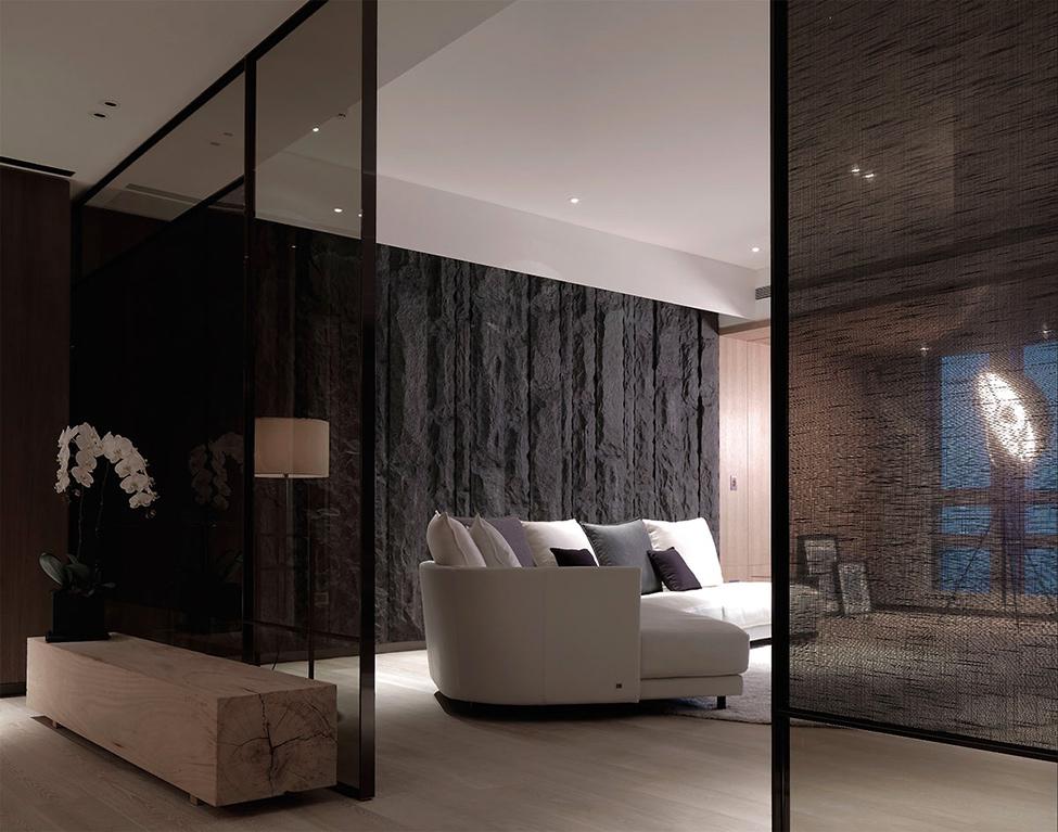 modern contemporary rich room condominium decoration (12)
