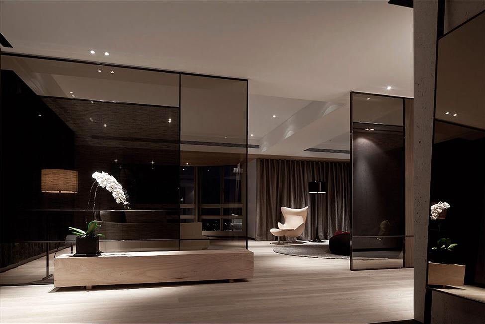 modern contemporary rich room condominium decoration (2)