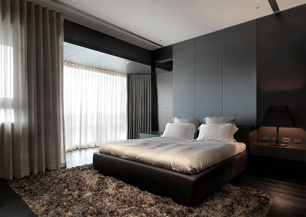 modern contemporary rich room condominium decoration (3)