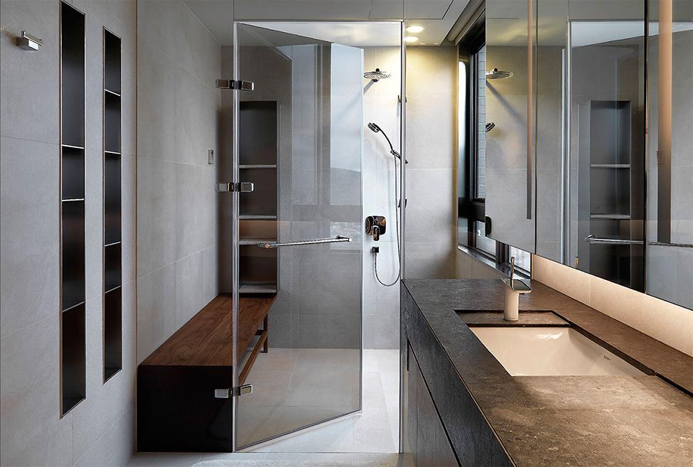 modern contemporary rich room condominium decoration (5)
