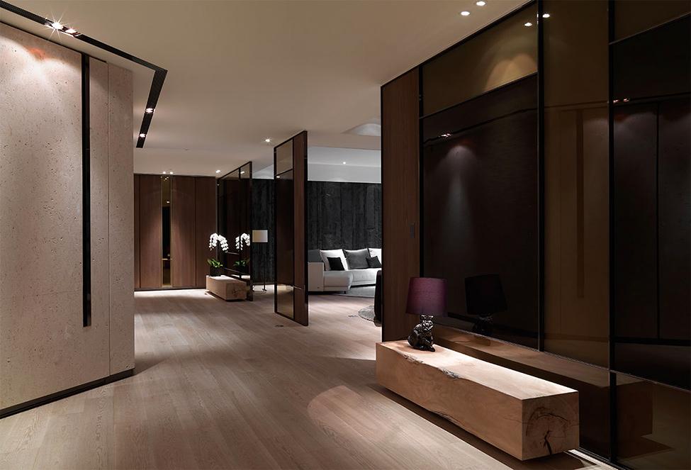 modern contemporary rich room condominium decoration (6)