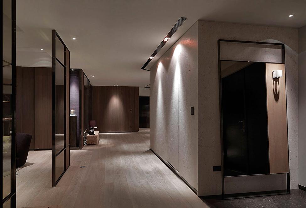 modern contemporary rich room condominium decoration (7)