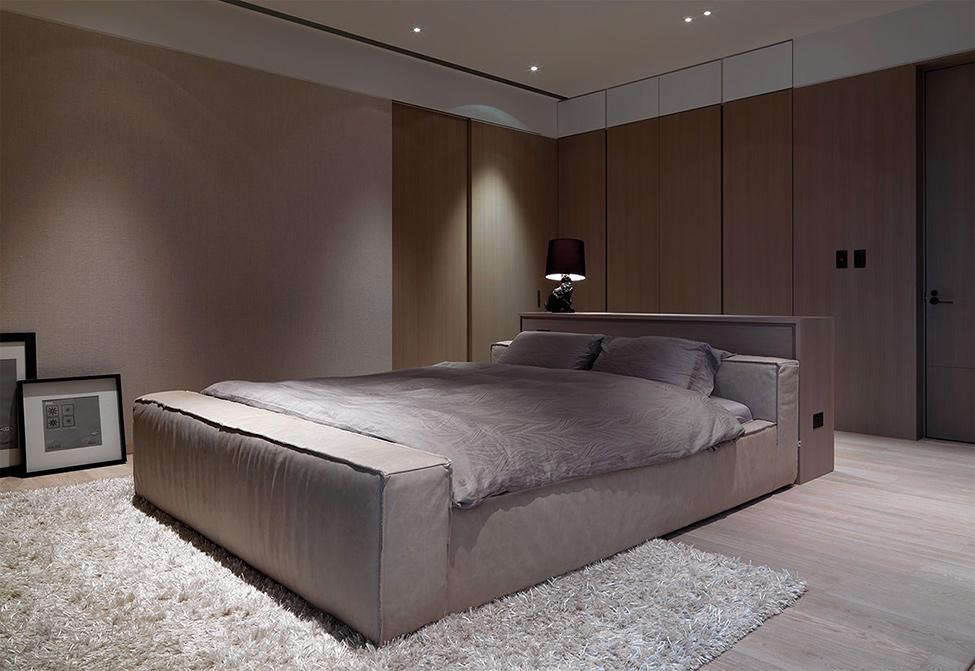 modern contemporary rich room condominium decoration (9)