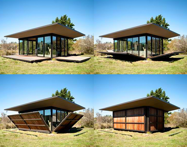 modern glass house with wood (3)