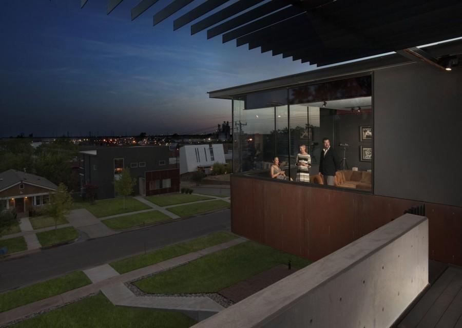 modern house city concrete cool idea (11)