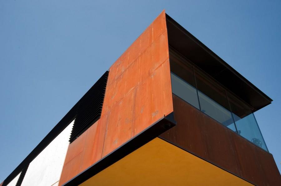 modern house city concrete cool idea (3)